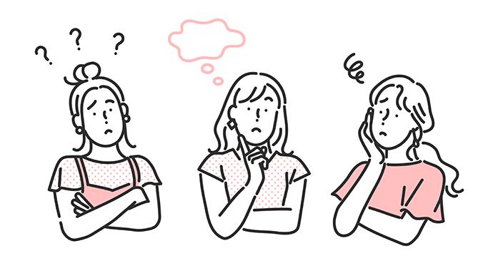 疑問 女性